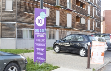 Travaux parking du conservatoire