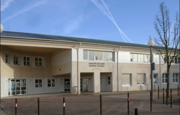 Façade du groupe scolaire Sidonie Talabot