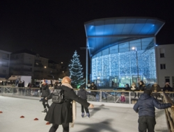 Inauguration Patinoire Millénaire